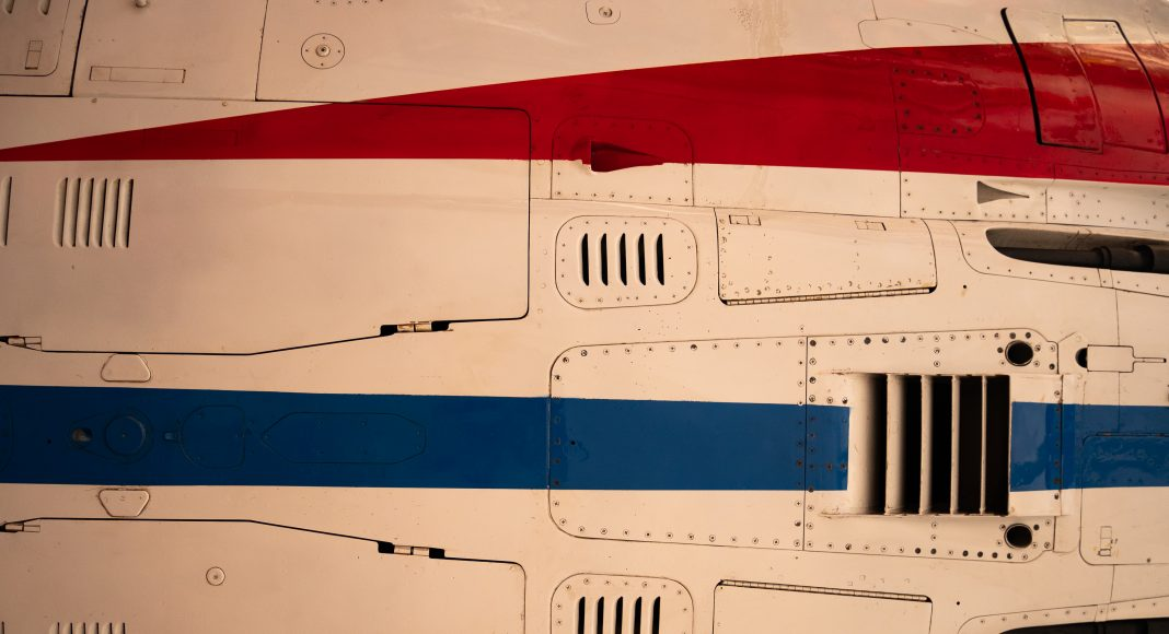 musee_air_espace_cocarde_mirage_dessous