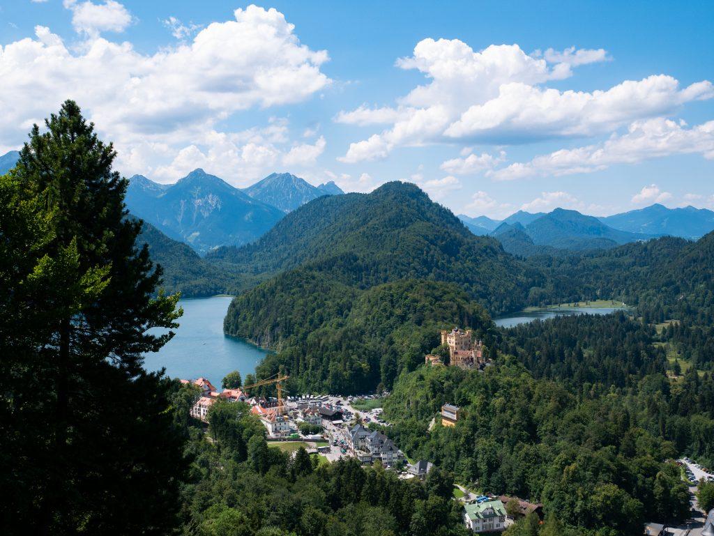 chateau_neuschwanstein_Alpsee_Hohenschwangau